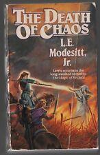 The Death of Chaos - L.E. Modesitt, Jr. - Pb - 1995 - Tor Books - 0812548248.
