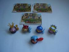 Ü-Ei 5 x Spielzeug aus Serie - König Blick und sein Gefolge - + 3 BPZ von 2004