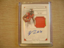 Bradley Roby 2016 National Treasures Auto 2 color Rc Patch 1/1 Buckeyes Sweet