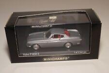 RR 1:43 MINICHAMPS VOLVO P1800 E COUPE 1969 METALLIC BLUE MINT BOXED