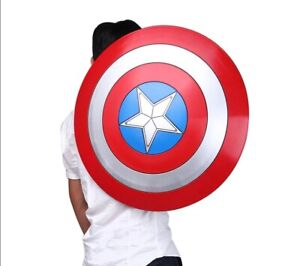 Captain America Shield 1:1 ABS Shield 57cm Cosplay Halloween Cool Gift Props