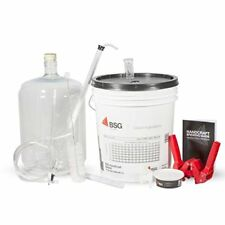 Home Brewing Equipment Kit With 6g Plastic Carboy (K6PET) (L6-BSG)