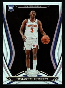 Immanuel Quickley 2020-21 Panini Certified #176 Base Rookie RC New York Knicks