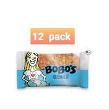 Bobo's Oat Bars All Natural, Gluten Free Original, 3 oz Bars, Pack of 12