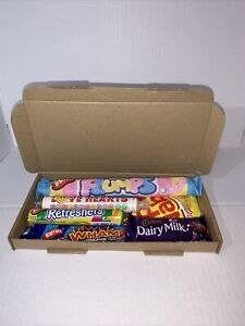 Classic Retro Sweet Hamper Letterbox Gift Chocolate Lockdown Treat Box