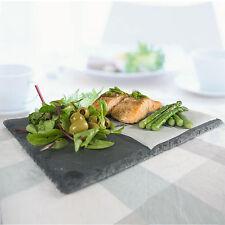 Alimento pizarra 6pc/placa De Placa De Queso/Tapas Restaurante Plato Comedor C