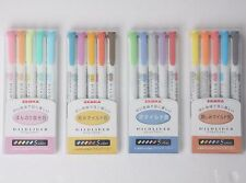 ZEBRA Mildliner Soft Color Double-Sided Highlighter Pen 20-Colors 4 SET WKT7