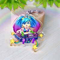 League of Legends LOL hero Sona Acrylic Key Ring Pendant Keychain Cosplay Gift