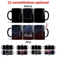 Office Coffee Mug 12 Star Constellation Heat Changing Ceramic Mugs Magic Cup