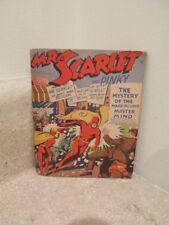 S25 fawcett mighty midget comics Mr. Scarlett & Pinky #12 mystery make believe