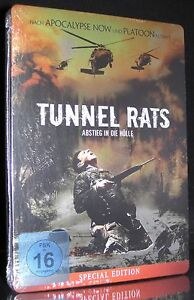 DVD TUNNEL RATS - STEELBOOK - SPECIAL EDITION - Vietnam 1968 - UWE BOLL * NEU *