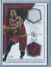 2013-14 National Treasures Dion Waiters Game Gear DUAL GU JERSEY RELIC 82/99