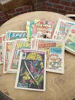 Vintage Comics Beano, Buster, Whizzer, Tizwas, Spiderman Hulk, Whoopee & Speed