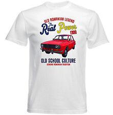 Vintage rumano coche Dacia 1300-Nuevo Algodón Camiseta