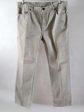 Harley Davidson Beige Jeans No Back Pockets Size 14
