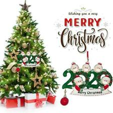 HOT 2020 Merry Christmas Xmas Tree Hanging Ornaments Personalized Decor BEST AU