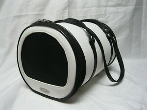 PETOTE Leather Pet Carrier For Travel/Airline/Etc.)