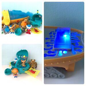 Octonauts Vehicle Bundle Gup A S M Figures Creature Accessories Lights & Sounds