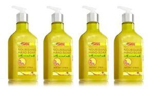 Bath & Body Works Sea Salt Citrus Nourishing Hand Soap with Coconut Milk x4