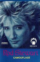 Rod Stewart .. Camouflage. Import Cassette Tape