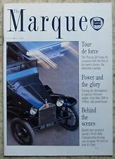 The MARQUE LANCIA In House Magazine ISSUE 14 Autumn 1989 THEMA 16v TURBO SE