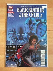 Black Panther & The Crew 1 - High Grade Comic Book B55-5