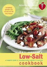 American Heart Association Low-Salt Cookbook  Hardcover