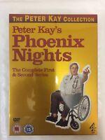Phoenix Nights 1-2 complete series bonus CD Free UK P&P Season 1 and 2