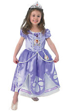 Kids Sofia the First Ballet Pumps Disney Princess Fancy Dress Costume Accessory