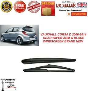 VAUXHALL CORSA D MK3 2006-2014 REAR WIPER ARM & BLADE WINDSCREEN 300MM  NEW