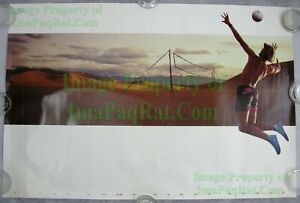 NITF ☆ Vintage ☆ Old Stock ☆ NIKE Poster ☆ First Come First Serve ☆ Adam Johnson