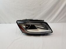 AUDI Q5 HEADLIGHT RIGHT PASSENGER 2013 2014 2015 2016 BI-XENON LED OEM