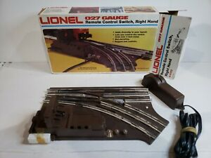VINTAGE LIONEL 027 GAUGE REMOTE CONTROL SWITCH, RIGHT HAND (6-5122)