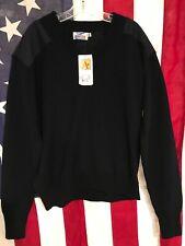 "Crew Gear V-Neck Commando Sweater 2XL Chest 50"" Navy Blue NWT!!!"