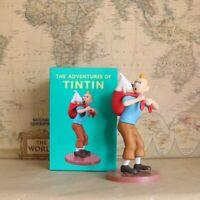 Figurine de collection Tintin et Milou MILOU SUR LE DOS HERGÉ NEUVE