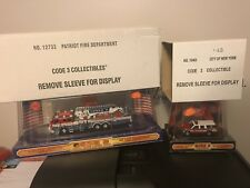 1:64 Diecast Code 3 Collectibles FDNY Suburban Seagrave Aerialscope Ladder Truck