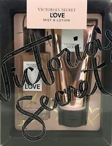 Victoria's Secret New! LOVE Mist & Lotion Gift Set