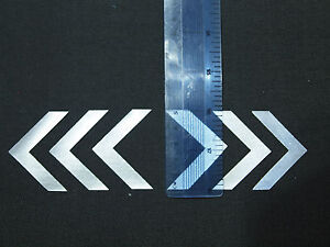 reflective iron on chevrons BE SAFE BE SEEN