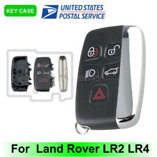 Smart Remote Car Key Shell Case Fob For Land Rover Range Rover Sport 5 Button