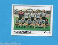 PANINI CALCIATORI 1989/90 -Figurina n.515- ALESSANDRIA - SQUADRA -Recuperata