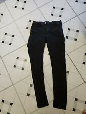 H&M Skinny Fit 11/12 Girls Youth Black Jeans
