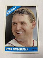 2015 Topps Heritage Baseball Ryan Zimmerman Washington Nationals Card #26