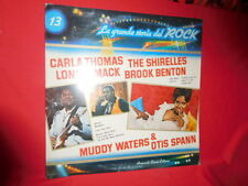 CARLA THOMAS LONNIE MACK SHIRELLES  LP ITALY 1981 MINT- Grande storia del ROCK