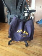 Fred Perry X Comme Des Garcons SHIRT Nylon Messenger Bag, Sz XL Navy Blue