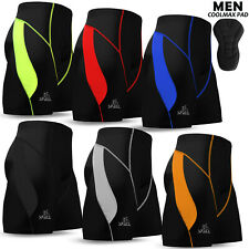 Mens Cycling Shorts MTB Bicycle Bike Short Compression Padded S to XL