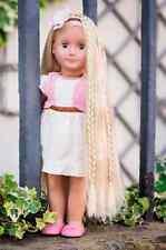 Niñas Set estilo de pelo Jugar Muñeca práctica nuestra generación Phoebe rubia Niños Nuevo