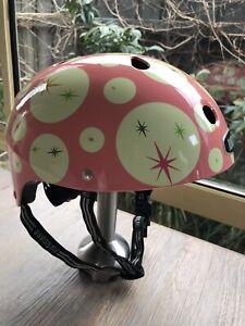 Nutcase Kids Cycle, Bike Riding, Skateboarding Helmet Girls Size XS 46-52 CM EUC