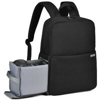 CADeN L4 Camera Backpack Bag Black Grey Waterproof  for Canon Nikon Sony Samsung