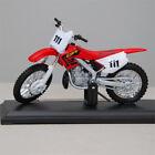 Maisto Honda CR 250 1:18 Die-Cast Motocross MX Toy Model Bike Red