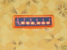 ~ Atari Video Game Vintage 80's Activision Patch -- Laser Blast One Million ~